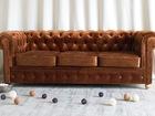 Смотреть фото  Трехместный диван Честерфильд 36884710 в Ижевске