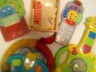 Fisher price djeco игрушки пакет