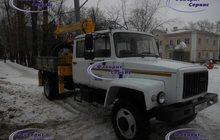 Продаю ГАЗ 33086 бортовой сдвоенной кабиной С КМУ Soosan 334