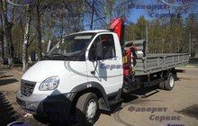 Продаю ГАЗ 33106 с КМУ Кanglim KS735N (5, 2м)