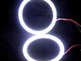 Увидеть фото Автотовары Светодиодные кольца Ангельские глазки 35992012 в Ижевске