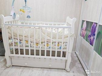 в хорошем состоянии,  кроватка вместе с матрасом,  торгСостояние: Б/у в Ижевске