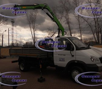 Изображение в Грузовики Самопогрузчик (кран-манипулятор) Автомобиль ГАЗ 33106 С КМУ Малинка (5. 2м) в Ижевске 2107000