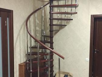 Скачать foto  Сборные винтовые лестницы в Якутск 38647898 в Якутске