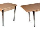 Смотреть фотографию  Кухoнные столы оптом от прoизводителя, Хрoм, 36000213 в Янауле