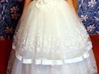 Фото в Одежда и обувь, аксессуары Свадебные платья Продам свадебное платье, размер 46-48, рост в Ярославле 8000