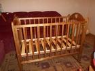 Изображение в   Продам кроватку из натурального дерева в в Ярославле 4500