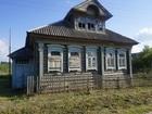Просмотреть foto  Бревенчатый дом в жилой деревне, с хорошим подъездом, 200 км от МКАД 35833870 в Москве