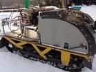 Фото в Авто Снегоходы Мотособака новая, дв. Лифан 15 л. с. , гусеница в Ярославле 50000