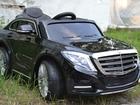 Скачать бесплатно фотографию  Электромобиль детский С класс (лицензионный) Mercedes Benz S600 38601040 в Анапе