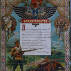 Старинное свидетельство-грамота 1914 года