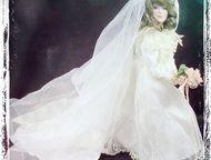 продаю фарфоровую куклу Продаю фарфоровую куклу в свадебном платье, высота - 30