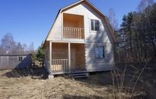 Новый дом в тихой деревне, недалеко от Волги, 240 км от МКАД