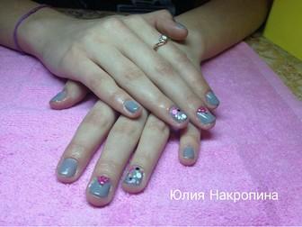 Фото ногтей начинающих мастеров