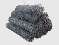 Уфа: Сетка рабица Продаем сетку-рабицу от производителя!   Сетка оцинкованная, размер ячейки 50*50 . Диметр проволоки 1, 6.   Продаём в рулонах по 10 метр