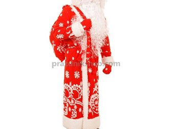 Свежее изображение Женская одежда Костюм Деда Мороза 33781524 в Москве
