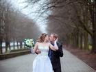 Смотреть изображение  свадебное платье и шубка 46-48 р, 38323128 в Калининграде