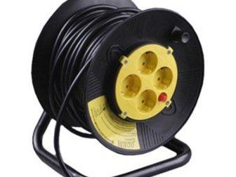 Увидеть изображение  Удлинитель электрический на катушке, 50м аренда, прокат 34237260 в Калининграде