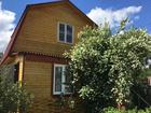 Дом из бруса, оформлен как жилое строение, есть возможность