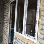 Балконная дверь. Оконная рама