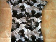 Летняя блузка Продаю летнюю блузку с коротким рукавом и воротником-стоечкой. Абс