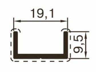 Новое foto Отделочные материалы Алюминиевый профиль для сантехнических перегородок 32743145 в Казани