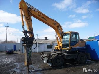 Увидеть изображение  Сдаем в аренду Экскаватор гусеничный Hyundai 300LC-9S с клыком для разрушения зданий 3000 руб/час 42714714 в Казани