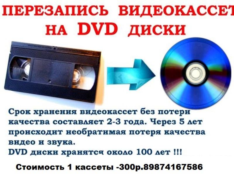 электронная места где переводят кассеты на диск люблю Кирилла запись