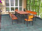 Уникальное фотографию Производство мебели на заказ Кованая садово-парковая мебель 33040759 в Кемерово