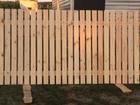 Скачать бесплатно изображение  Забор деревянный (секция) из евро штакетника 39654609 в Кемерово