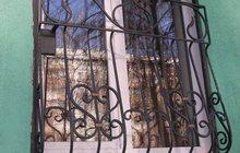 Решетки на окна металлические, кованые