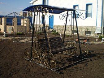 Уникальное фото Мебель для дачи и сада Качели садовые кованые 33040795 в Кемерово