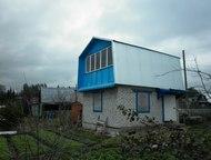 Продаю сад в с/т Сунчиха Дом двухэтажный:1-кирпичный 30кв. м, 2-деревянный 30 кв
