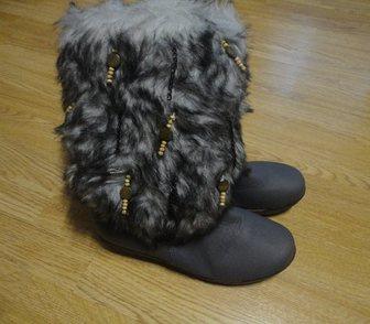 Фотография в   Продаю сапожки женские зимние новые, искусственная в Кирове 1000