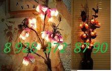 Цветы светильники