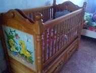 Кроватка детская Породам кроватку-люльку. Люлька снимается и остаётся подростков