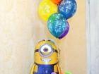 Скачать foto  Оформление праздников воздушными шарами, тканями (детские праздники, СВАДЬБЫ, банкеты, выпускные и т, д) 35053668 в Королеве