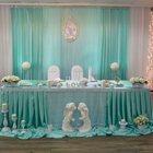 Оформление свадьбы тканями цветами шарами