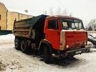 Изображение в Строительство и ремонт Строительные материалы Предоставляем в аренду самосвал КАМАЗ с нарощенными в Костроме 1000