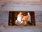 Уникальное фото Мебель для ванной Вешалка-панно для бани из массива сосны 40990878 в Костроме