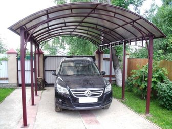 Смотреть фотографию Строительные материалы Навес для авто 33791066 в Костроме