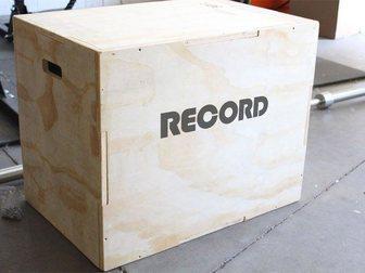 Новое фото Спортивный инвентарь Тумба для запрыгивания RECORD 33861195 в Костроме