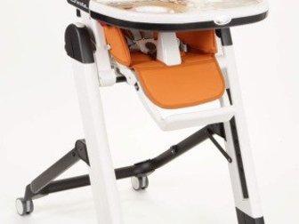 Хорошее состояние, новый столик, 3 положения спинки, приятный материал, эргономичный, очень удобный, легко моется,  Подходит для ребёнка от рождения (в положении в Костроме