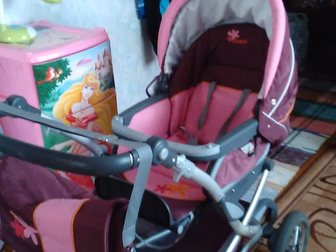 Увидеть фото Детские коляски Детская колясочка 2в1 фирмы GEOBY 32894305 в Коврове