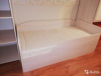 Детская кроватка с матрасом,  Отличное состояние, в Коврове