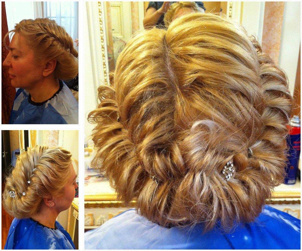 Причёска из косичек мастер класс
