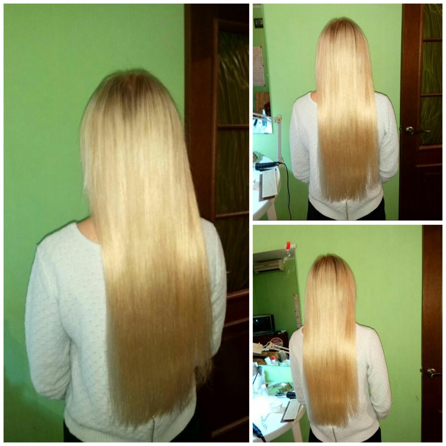 Наращивание волос в красногорске недорого