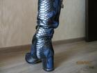 Просмотреть фотографию Женская обувь Продаются женские демисезонные сапоги 37 размера 34671999 в Краснодаре