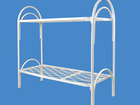 Увидеть изображение  Кровати металлические двухъярусные для казарм, кровати трёхъярусные для строителей, кровати металлические для студентов 35054540 в Ижевске