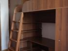 Уникальное foto Мебель для детей Кровать-чердак с письменным столом и полками 36964159 в Краснодаре